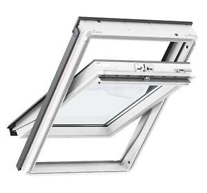 Original VELUX Dachfenster Kunststoff Thermo Energie 3Fach GLU GGU Eindeckrahmen