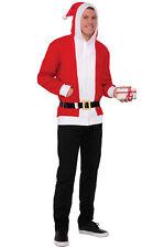 Simply Santa Hoodie Christmas Adult Costume (Large)