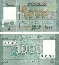 Libanon / Lebanon - 1000 Livres 2016 UNC - Pick New