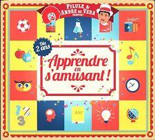 APPRENDRE EN S'AMUSANT DES 2 ANS - ENFANTS - 3 CD + 2 DVD COMPIL NEUF SOUS CELLO