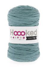 Hoooked ribbonxl 120M punto tejer hilado de de Algodón Crochet-Esmeralda Splash