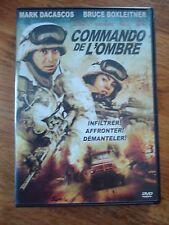 DVD * COMMANDO DE L OMBRE * MARK DACASCOS / BRUCE BOXLEITNER GUERRE