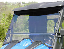 Soft TOP + Clear Lexan WINDSHIELD ~ Yamaha RHINO ~ UTV Enclosures ~ New