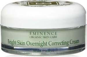 Bright Skin Overnight Correcting Cream by Eminence, 2 oz