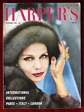 Harper's Bazaar UK Magazine ~ September 1960 ~ Nena Von Schlebrugge
