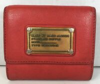 Marc by Marc Jacobs Red leather Multipocket Womens Wallet- Well Worn