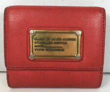 Marc by Marc Jacobs Standard Supply Red leather Multipocket Womens Wallet