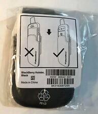 NEW Original BlackBerry Leather Case Swivel Holster for Bold 9900 Bold 9930