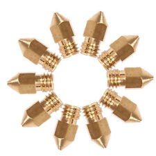 10x Brass 0.4mm Extruder Nozzle Print Head for MK8 Makerbot Prusa i3 3D Printer