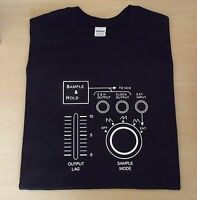 RETRO SYNTH SEMI MODULAR EURORACK SAMPLE & HOLD DESIGN T SHIRT S M L XL XXL