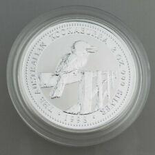 Australien - 1 Dollar von 1998 Kookaburra 1 Unze Silber Unzierkuliert  - V