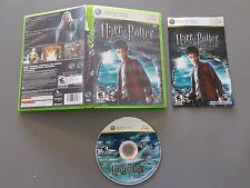 Harry Potter and the Half-Blood Prince (Microsoft Xbox 360, 2009) CIB - VG Disc