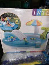 New listing Fast Ship Intex Dinosaur Play Center Inflatable Kids Swimming Pool