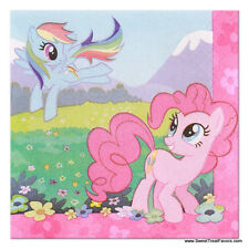 My Little Pony Napkins Cake x16 Party Supplies Decoration Birthday Pink Horse NW
