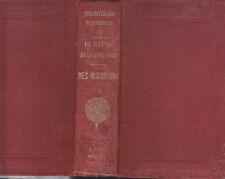 C1 RESTIF de LA BRETONNE Mes Inscripcions JOURNAL 1780 1787 Biblio ELZEVIRIENNE