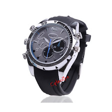 MANS WATCH - SPY CAMERA DVR - 1920X1080 VIDEO RECORDER - WATER RESISTANT