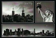 Empire State & Chrysler Building, Statue of Liberty etc New York City - Postcard