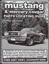 Find ANY Mercury Cougar parts with this book 1967 1968 1969 1970 1971 1972 1973
