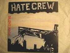 """HATE CREW """"SILENT RAGE"""" - LP"""