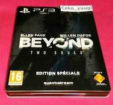 BEYOND TWO SOULS EDITION SPECIALE PS3 TRES BON ETAT + ARTBOOK COLLECTOR