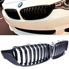 BMW 4 series F32 F33 F36 M performance gloss black kidney grille grilles grills.