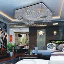 Modern 13 Light Crystal Chandelier Pendant Lighting Ceiling Fixture Lamp