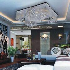 Modern 13 Light Crystal Chandelier Pendant Lighting Ceiling Fixture Lamp