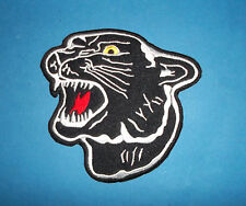 `PANTHER` SEW OR IRON ON PATCH