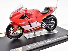 MODELLINI MOTO GP DUCATI DESMOSEDICI SCALA 1:24 CAPIROSSI 2004 MOTOGP DIECAST