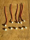 5 Pair Jst XH2.54 2-Pin Plug & Socket, 0 3/32in Pin Distance, 1S Lipo Akku-Steck