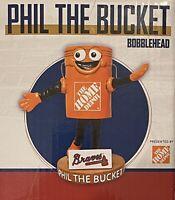 Phil the Bucket Bobblehead Atlanta Braves Tool Race Home Depot