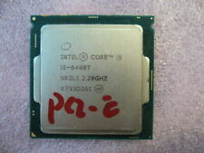 QTY 1x Intel CPU i5-6400T 2.2Ghz LGA1151 SR2L1,  one PCI-E slot not work