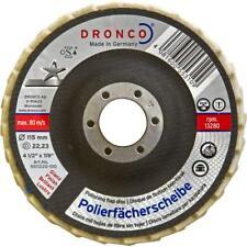 Dronco Polimaxx 4 Angle Grinder Polishing Disc 115mm x 22mm GVA Finishing Metal
