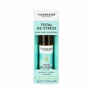 Tisserand Aromatherapy Total De-Stress Pulse Point Roller Ball 10ml