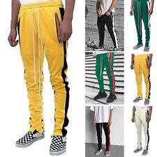 Men Jogging Casual HipHop Jogger Sport Sweat Pant Track Trousers Gym Long Slacks
