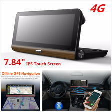 7.84'' 4G HD Android Car DVR Camera Bluetooth WiFi GPS Navigation Video Recorder