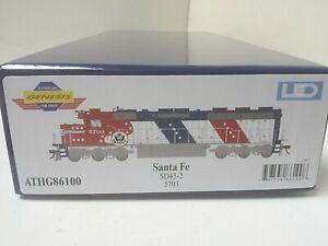 Athearn HO SD45-2 Santa Fe Railroad 5703 Bicentennial ATH G86100 DCC Ready