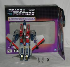 transformers G1 tru commemorative starscream Complete