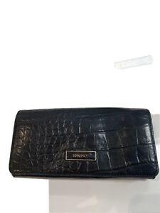 DKNY Black Leather Purse