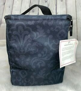NEW THIRTY-ONE Black Cooler Tote Bag
