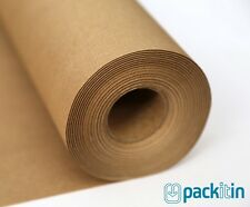 60 metre roll - BROWN KRAFT PAPER - 50cm wide 60gsm - Packing Wrapping Packaging