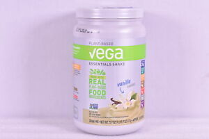 Vega Plant Based Essentials Protein Shake, Vanilla, 21.6 oz, EXP: 01/14/2022