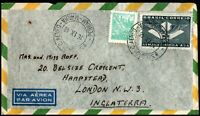 1946 Brazil Airmail pernam manhã CDS Cover to UK