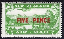 NEW ZEALAND 1931 AIR MAIL STAMP Sc. # C 4 MH