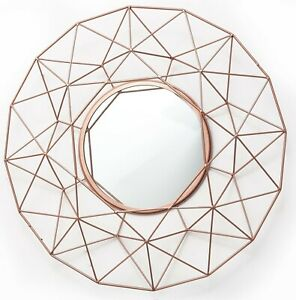 Iron Frame Round Decorative Mirrors For Sale Ebay