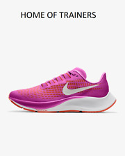 Nike Air Zoom Pegasus 37 Fire Pink Team Orange Girls Women's Trainers All Sizes