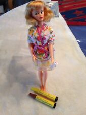 VINTAGE 1965 GLAMOUR MISTY BARBIE DOLL WITH HAIR COLORING MARKERS -MISS CLAIROL