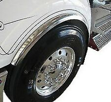 Pair of Front Stainless steel wheel arch flares to suit Kenworth
