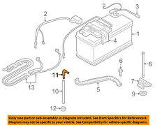 BMW OEM 07-13 328i 3.0L-L6 Battery-Drain Hose Connector 61211377835