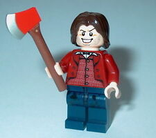 "MOVIE Lego Classic Horror The Shining ""JACK TORRANCE"" w/axe Custom NEW #9"